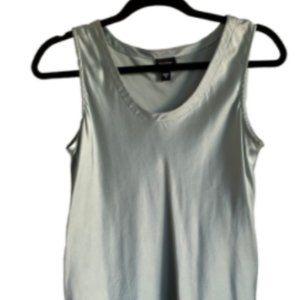 Eileen Fisher Tank Top Silk Soft Green Size Large